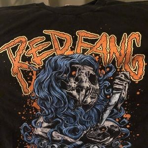 Other - SALE! Red fang band tee!